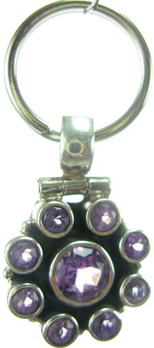 Design 5180: Purple amethyst pets pendants