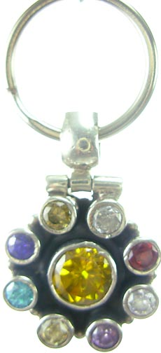 Design 5186: Multi citrine pets pendants
