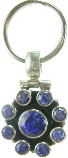 Design 5196: Blue iolite pets pendants