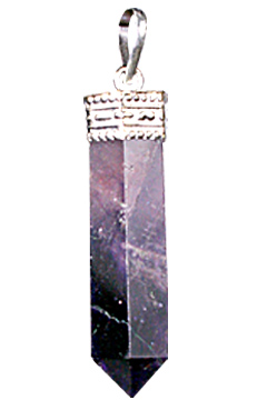 Design 627: purple amethyst pencil pendants