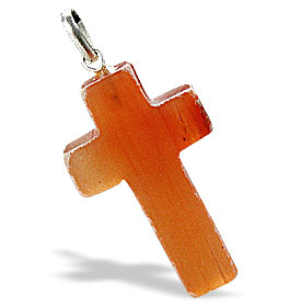 Design 6345: red aventurine christian, cross pendants
