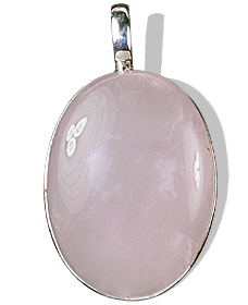 Design 639: pink rose quartz pendants