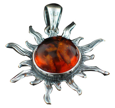 Design 7120: orange amber charms pendants