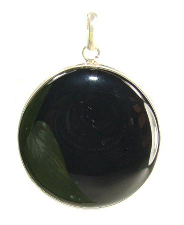 Design 7323: black onyx pendants