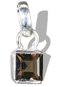 Design 7995: brown smoky quartz mini pendants