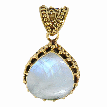 Design 8508: White moonstone pendants