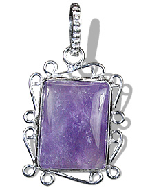 Design 8889: purple amethyst pendants