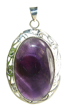 Design 8934: purple amethyst pendants