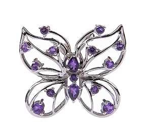 Design 18068: purple amethyst pendants