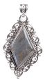 Design 18359: green labradorite pendants