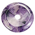 Design 626: purple amethyst donut pendants