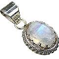 Design 6978: white moonstone pendants