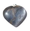 Design 7272: gray moonstone heart pendants