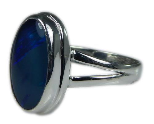 Design 21235: multi-color opal rings