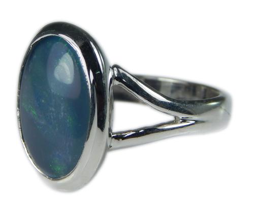 Design 21244: multi-color opal rings
