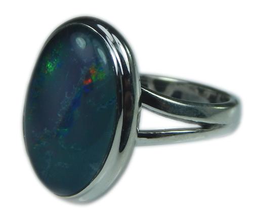Design 21245: multi-color opal rings