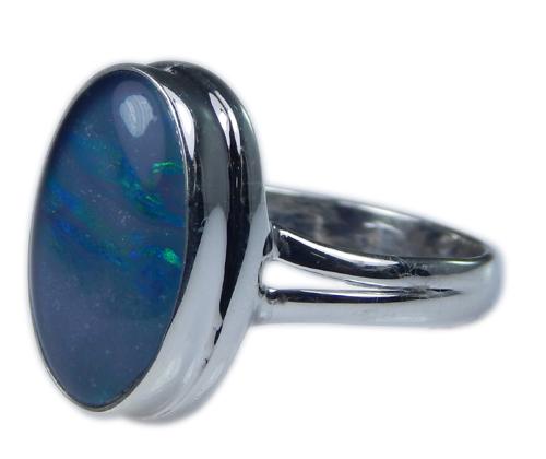 Design 21256: multi-color opal rings