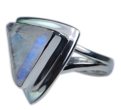 Design 21346: blue,white moonstone rings