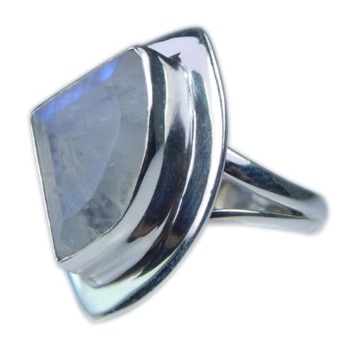 Design 21349: blue,white moonstone rings