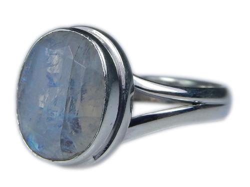 Design 21351: blue,white moonstone rings