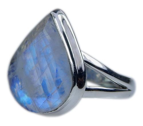 Design 21360: blue,white moonstone rings