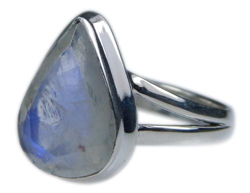 Design 21361: blue,white moonstone rings