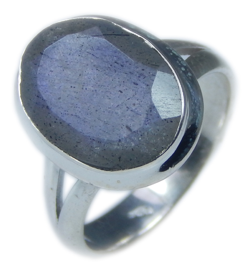 Design 21580: blue,gray,yellow labradorite rings