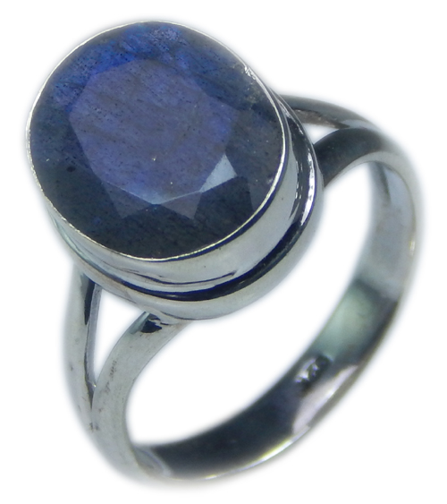 Design 21582: blue,gray labradorite rings