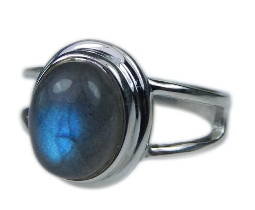 Design 21653: blue,gray labradorite rings