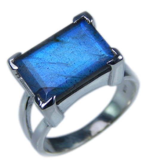 Design 21673: blue,gray labradorite rings