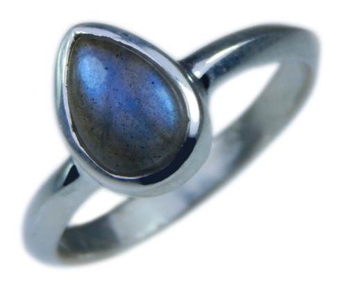 Design 21677: blue,gray labradorite rings
