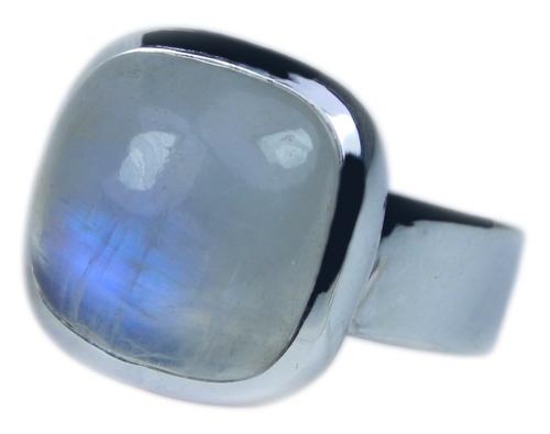 Design 21685: blue,white moonstone rings