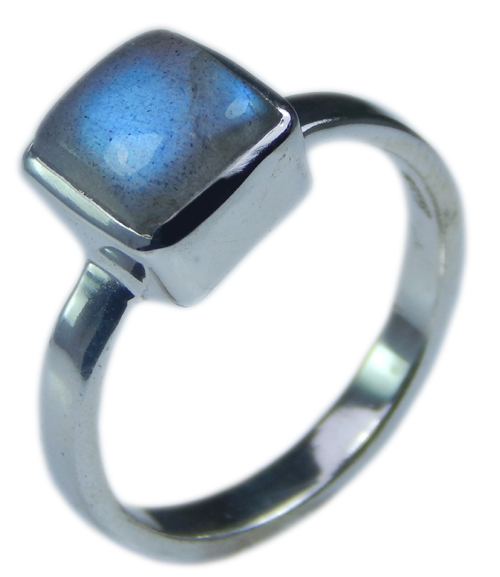 Design 21696: blue,gray labradorite rings
