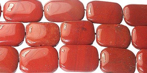 Design 11728: red jasper beads
