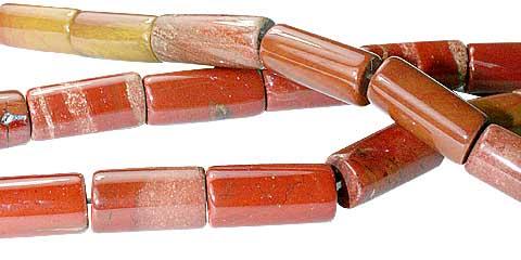 Design 11729: Red jasper beads