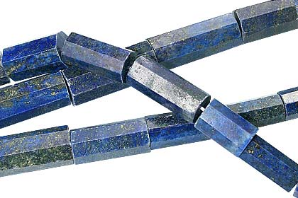 Design 12757: blue lapis lazuli beads