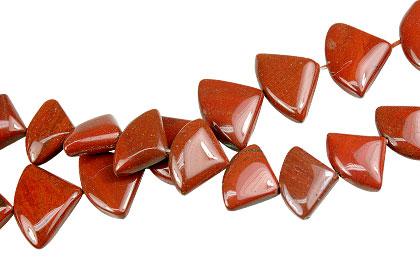 Design 13968: red jasper beads