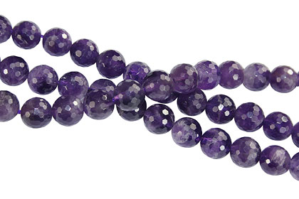 Design 16276: purple bulk lots faceted beads