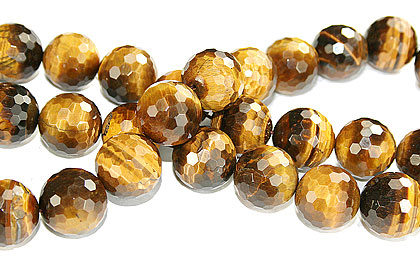 Design 16282: brown,yellow bulk lots faceted beads
