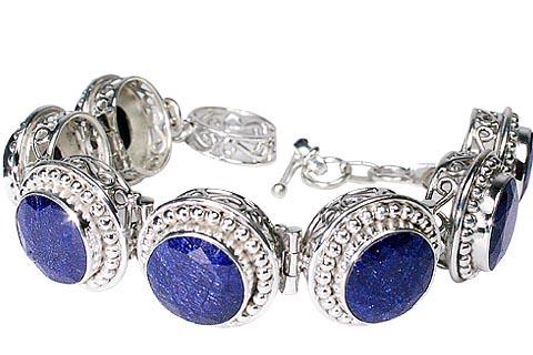 Design 10095: blue sapphire bracelets
