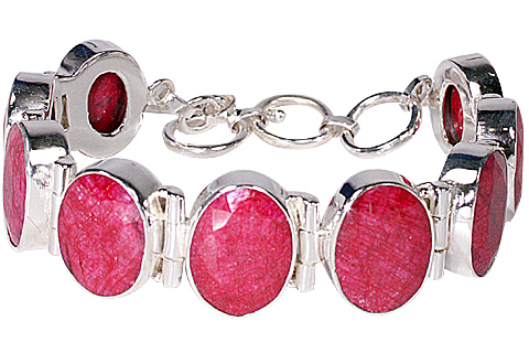 Design 10108: red ruby bracelets