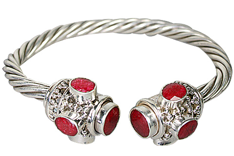 Design 10290: Red ruby bracelets