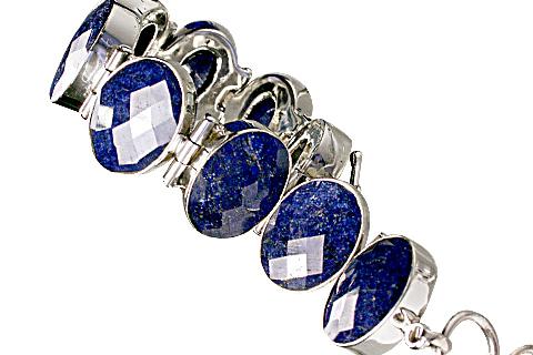 Design 10377: blue sapphire bracelets