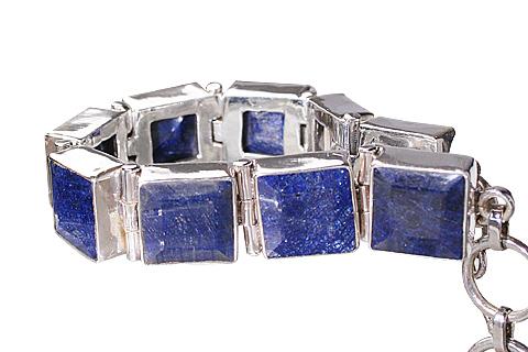 Design 10381: blue sapphire bracelets
