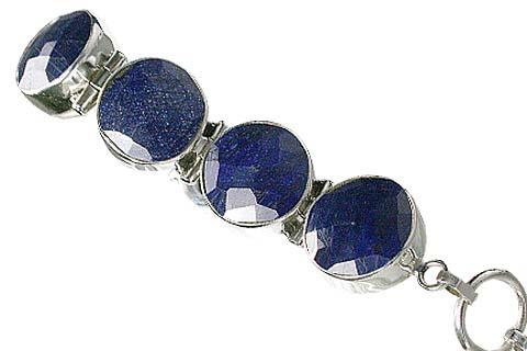 Design 10388: blue sapphire bracelets