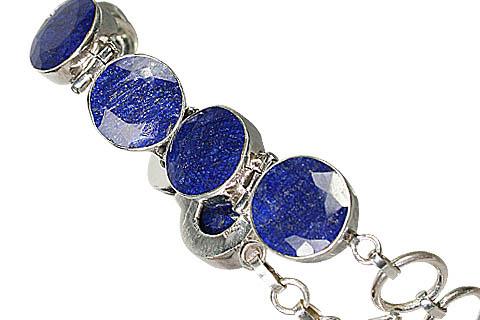 Design 10390: blue sapphire bracelets