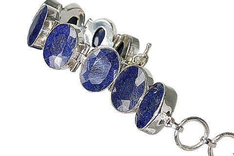 Design 10402: blue sapphire bracelets