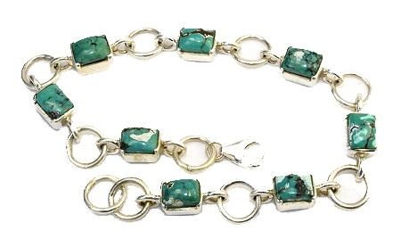 Design 10992: blue,green turquoise american-southwest bracelets