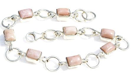Design 11089: pink pink opal bracelets