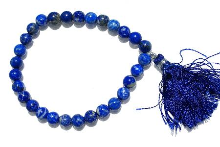 Design 11093: blue lapis lazuli bracelets